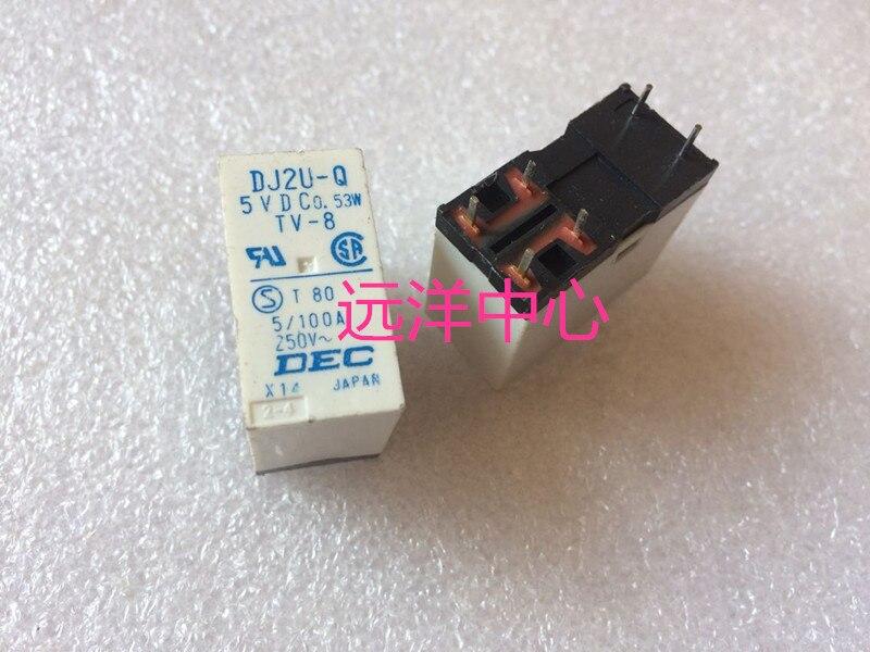 DJ2U-Q 5VDC 0.53W  6PIN5/100ADJ2U-Q 5VDC 0.53W  6PIN5/100A