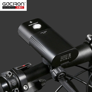 Image 4 - Gaciron V9D Bicycle Headlight Dual Chips Super Bright Bike L2 LED Lamp Front Lamp 1600Lumens Internal Battery USB Charge