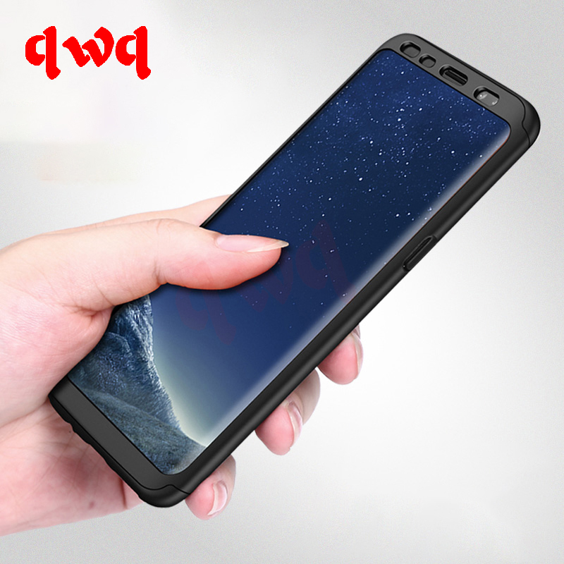 new styles 7bff4 d0351 360 Full Cover Protection Cases For Samsung Galaxy S8 S8 Plus Hard PC  Shockproof Samsung S7 Edge Note 8 Bag