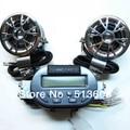 H002-Z New 12V ATV/ FM Radio and Waterproof loudspeaker Motorcycle Audio STEREO SPEAKER Set AUDIO SOUND SYSTEM
