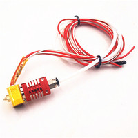SWMAKER MK10 Nozzle Hotend Kit MK10 Assembled Extruder Hot End Kit For Creality Cr 10 3D