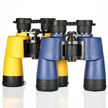 Powerful 7x50 HD Binoculars Handheld Waterproof Lll Night Vision Binocular Long Eye Relief Telescope for Outdoor Camping Hunting 12x magnify hd binocular telescope 12x25 waterproof long range professional hunting hd powerful binoculars light night vision