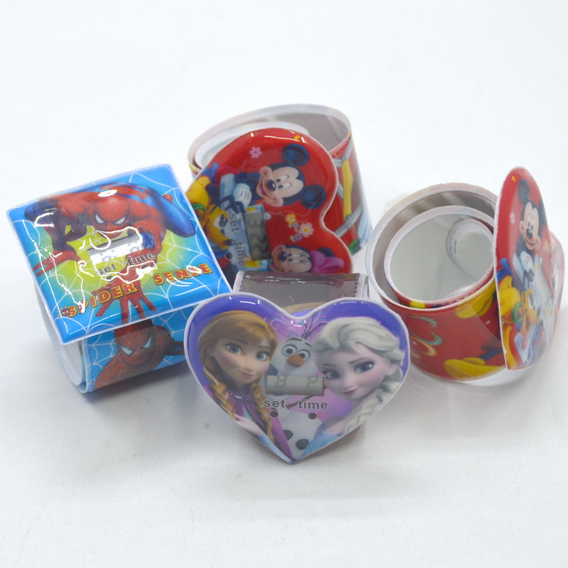 30pcs per lot Boy girl student children slap sport cartoon watch sports brand watch digital watch children birthday party gifts