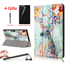 PU leather cover case For funda lenovo tab 10 tb-x103f Tab 2 A10-70 Tab 2 A10-30 tablet case For lenovo Tab 3 10 plus tab3 x70f(China)