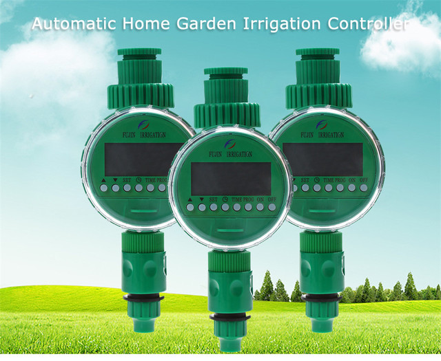 2019 Durable Electronic LCD Water Timer Automatic Garden Irrigation Program Sprinkler Control Timer - Garden  Irrigation Timer