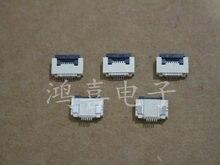 WZSM Brand New FFC FPC conector do cabo liso flexível soquete 0.5mm pitch 6 pin Frete Grátis