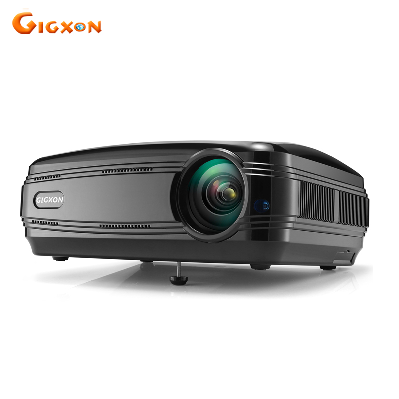 Gigxon G58 Full HD 3200 Lumens small Office Council Business Meeting use 1080P LCD LED projector Home Theater projector beamer gigxon g700a android portable mini projector support full hd level 1920x1080pixels 1200 lumens led projector