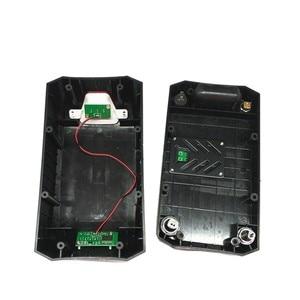 Image 3 - 36v battery case folding bikes lithium battery storage box haibao bike battery case with Power display lamp Rear light