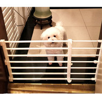 Pet Dog Fence Baby Gate Playpen for Dogs Indoor Retractable Pet Isolating Gate Room Plastic Kids Baby Safety Protection Tools 11