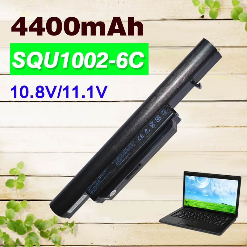 4400mAh Laptop Battery for Hasee A560P CQB912 CQB917 K580P K580S SQU-1002 SQU-1003 SQU-1008 for Haier T6-3 R410 R410G R410U brand new 15 6 led laptop screen panel for hasee a560p k580s k580n k580p e530 y500 k590s 1366 768