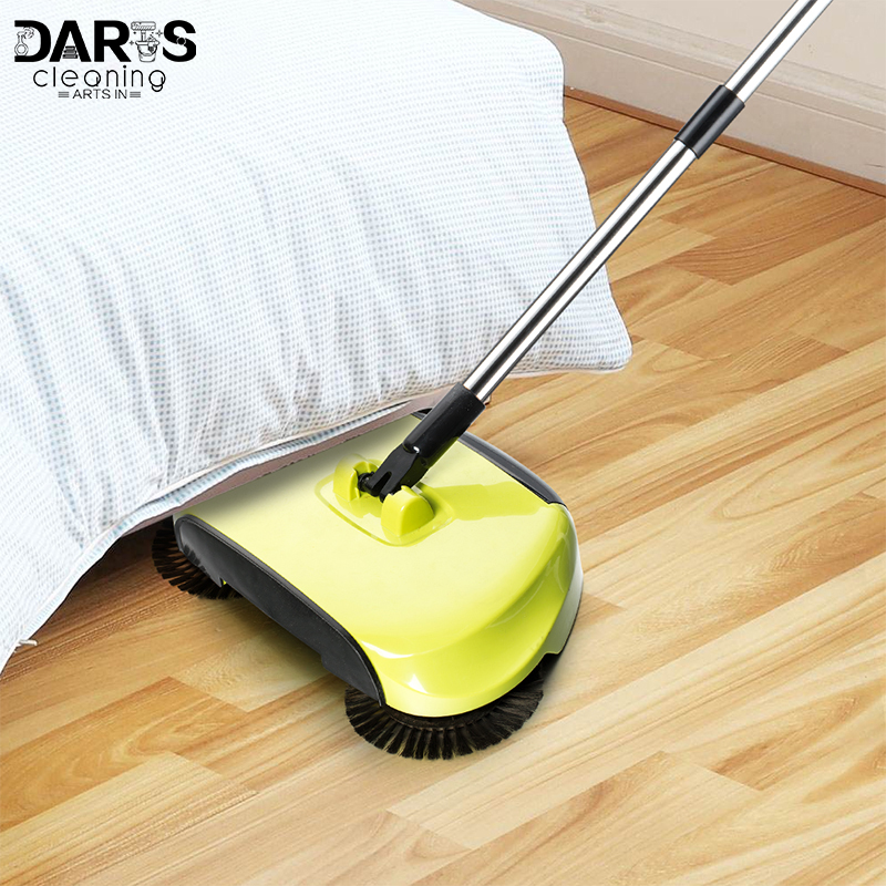Lazy Household Dust Cleaning Magic Hand Push Automatic Floor Sweeper Broom Without Electricity Wet Sweeper Mop