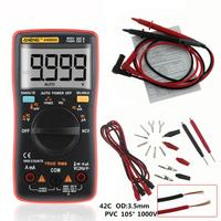 True RMS Auto Range LCD Digital Multimeter NCV Ohmmeter AC DC Voltage Ammeter Current Meter Temperature