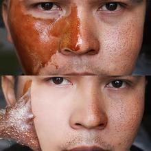 Медовая маска для удаления черных точек, маска для очистки масла, Очищающий Отшелушивающий от мертвой кожи, очищающее средство для сужения пор, уход за лицом, маска для ухода за лицом