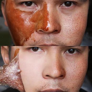 Miód łzawienie maska peelingująca maska kontrola oleju zaskórnika Remover Peel Off martwej skóry czyste pory kurczą się twarzy pielęgnacja twarzy do pielęgnacji skóry maska tanie i dobre opinie La Milee Peel maska Całą twarz Unisex Żel Nawilżający Leczenie i maska Propolis Chiny GZZZ YGZWBZ 2017125950