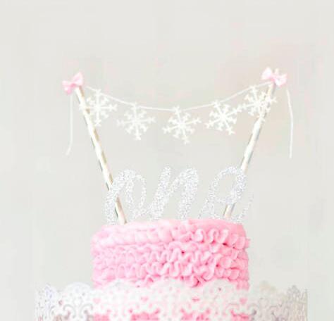Aliexpress.com : Buy custom snowflake winter wonderland birthday ...
