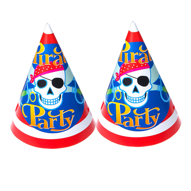 4pcs New Years Party Hats Cone Hats Decorative Novelty Toy Cartoon Hats For Kids Party Supplies Cartoon Hats