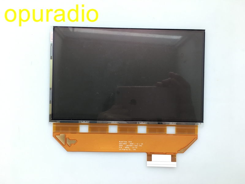 Harma Becker display LB070WV1 TD01 LB070WV1 TD17 LCD module 7 inch display for Mercedes W204 car