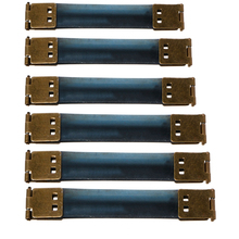 Модная сумочка, металлическая ручка, внутренний кошелек для монет, рамка, застежка поцелуй, скрытая защелка, сделай сам, сумка, аксессуар 8-15 см, совершенно новая бронза