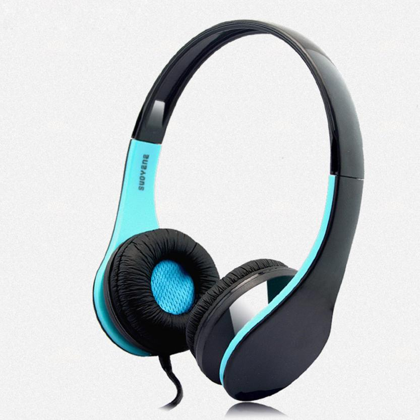 Portable Bass Surround Srereo Headsets 3.5mm Wired Headphones With MIcrophone For iPhone Nov27 factory price new portable fashion bass stereo headphones portable for iphone ipad mac pc mp3 wh 160907 high quality