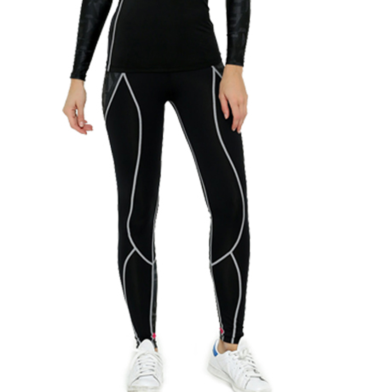 2017 Life on Track Spring Womens Compression Cycling Pants Bicycle Trousers Riding Cycling Tights Long Pants Bike Tights