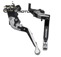 For HONDA CBR 600RR CBR600RR 2007 2013 Motorcycle Adjustable Folding Extendable Brake Clutch Levers logo REPSOL