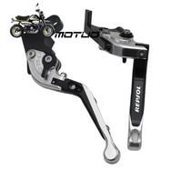 For HONDA CBR 600RR CBR600RR 2007 2013 Motorcycle Adjustable Folding Extendable Brake Clutch Levers logo REPSOL
