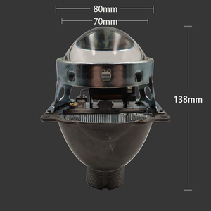 Image 2 - SZDS For Auto Car Headlight 3.0 inch KOITO Q5 H4 Bi xenon Projector Lens Retrofit Hid Xenon D2S D2H Bulbs Modify Optical lens