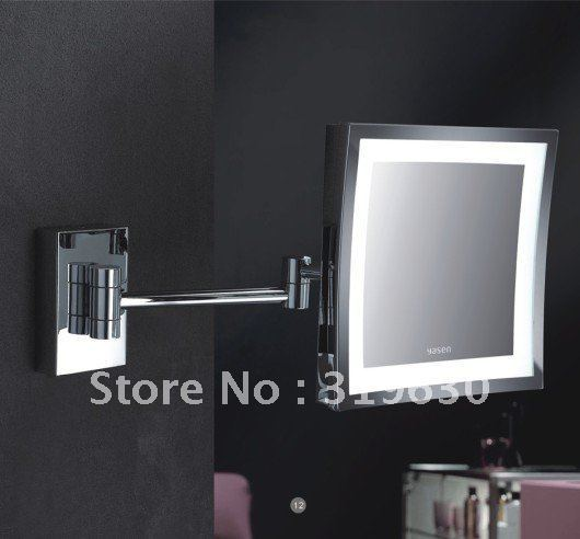 """Hot sale wholesale fashionable bathroom in wall make up mirror /8"""" shaving & cosmetic mirror -8500"""