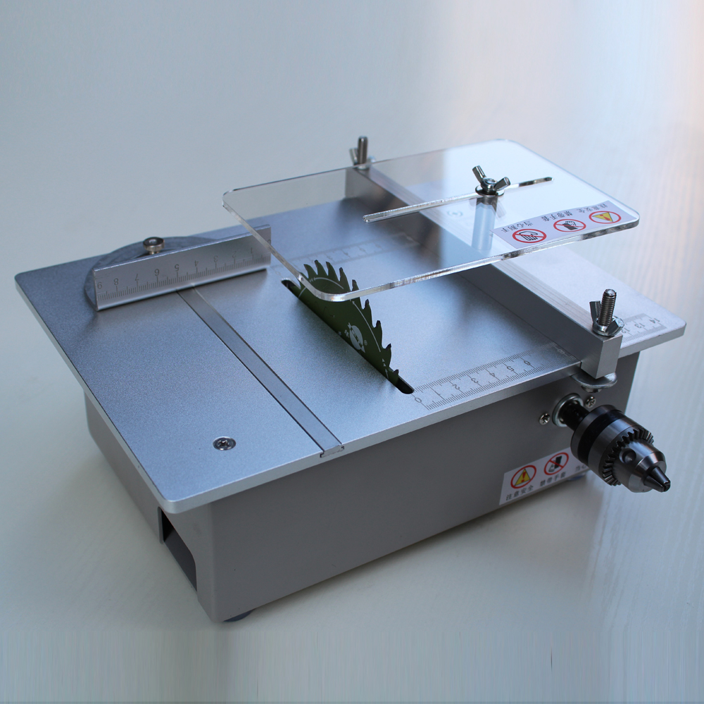 Multifunctional Mini Hobby Table Bench Saw Woodworking