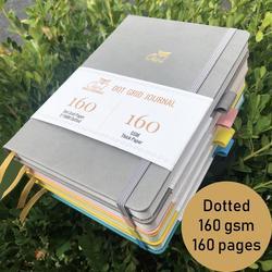 Hardcover Proiettile Ufficiale Notebook Punteggiato Griglia di Carta Riviste Agenda