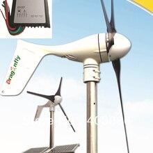 CE, Россия, ROHS одобрил сетка галстук 400 Вт ветряной генератор+ 400 Вт контроллер+ 400 Вт на сетке инвертор