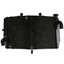Aluminum Radiator Cooler Cooling For Honda CBR600 F4I CBR 600 2001-2006 2002 2003 2004 05 Motorcycle Accessories customize injection molded for honda cbr 600 f4i fairings 01 02 03 black red cbr600 2001 2002 2003 fairing body kit re24