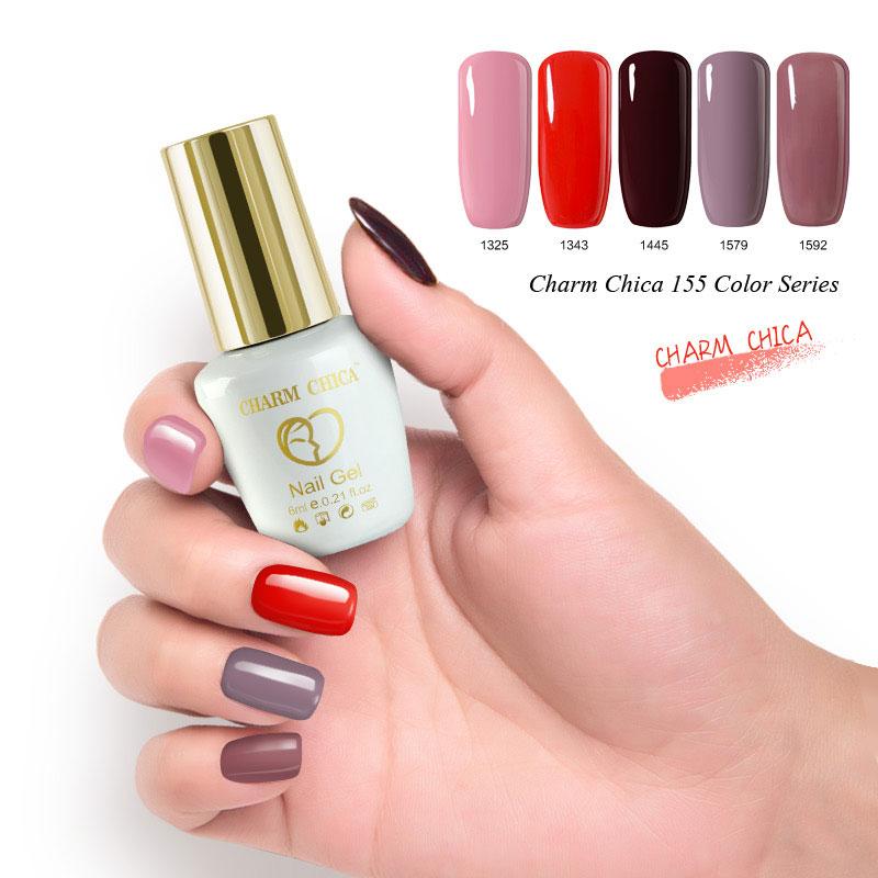 CHARM CHICA Nude Series Color Gel Polish 12ml Nude Pink