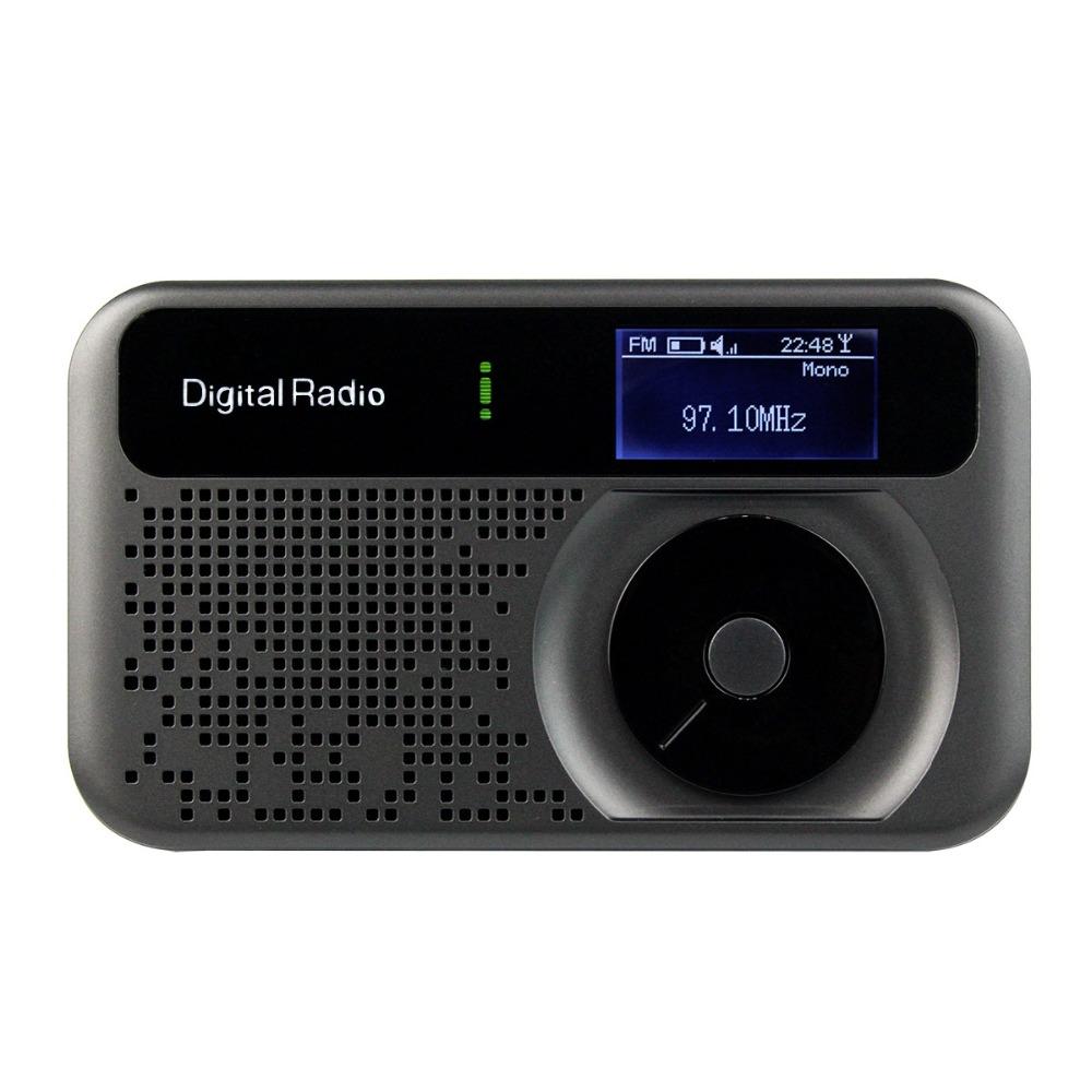 Prix pour Personnels DAB/DAB + FM Radio RDS Récepteur TF Carte PPS006 DAB Radio Poche Numérique Radio Y4111A Fshow