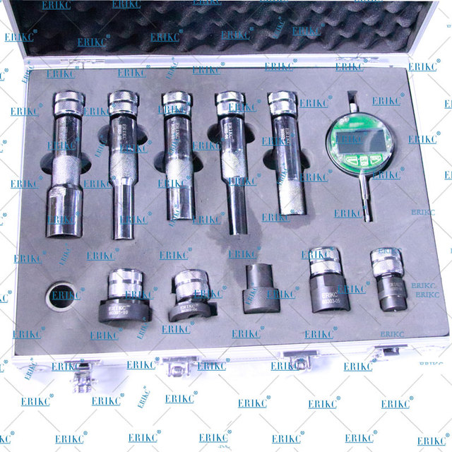 ERIKC Shims Lift Measure Instrument E1024007 Common Rail Fuel Injector Nozzle Washer Gaskets Space Testing Tools sets