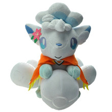 large size 28CM Doll Alola Vulpix Plush Toy Stuffed Dolls Gifts for Children Free Shipping Birthday present is a must