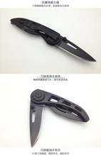 3CR13Mov stainless steel tactical folding pocket knife survival camping knife