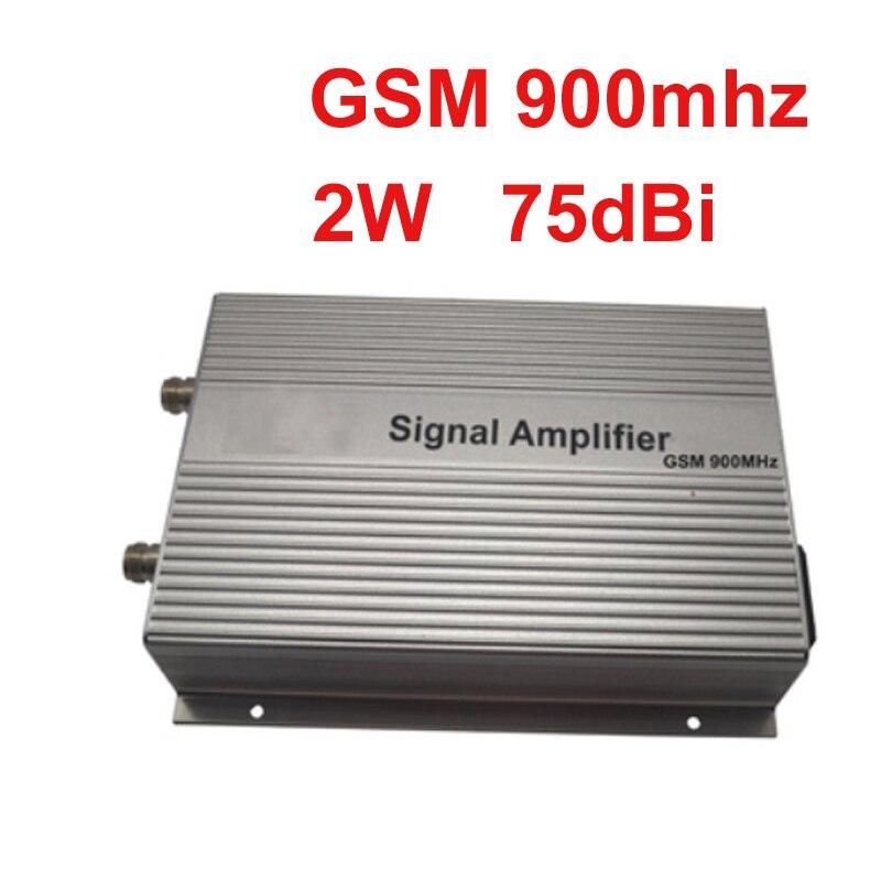 4000sq mètre utiliser ALC 75dbi amplificateur de signal de téléphone portable gsm répéteur de rappel mobile, répéteur GSM de booster de téléphone GSM900mhz