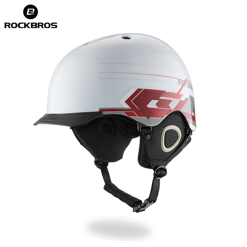 ROCKBROS Professional Integrally-molded Skiing Ski Helmet Ultralight Adult Skating Helmets Snowboard For Women Men Thermal Hat professional ski helmet men women integrally molded skating snowboarding helmet roller skateboard sports skiing helmets