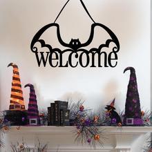 Vinyl Removable 3D Wall Sticker Halloween Black Cat Decor Decals For Walls Decal wall sticker wall decor halloween proverb letter removable wall sticker