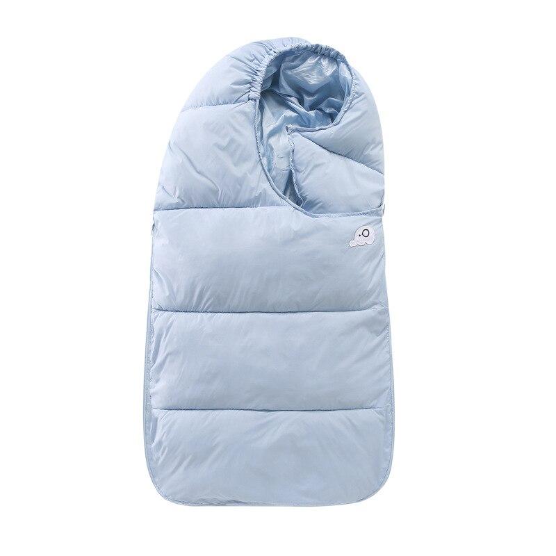 Теплый и ветрозащитный пуховик для пеленания новорожденных осенне зимний портативный спальный мешок для малышей ветронепроницаемый детск