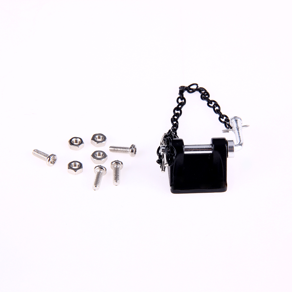 1:10 RC Rock Crawler Metal Tow Shackle Trailer Hook for Axial SCX10 90046 CC01 RC4WD D90 D110 TF2 Crawler Truck