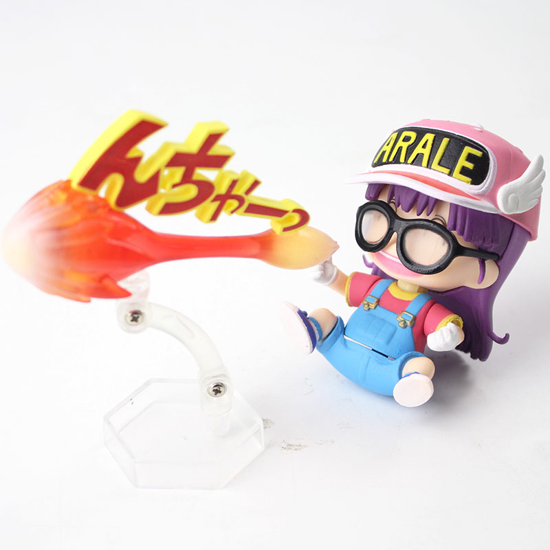 Anime Dr Slump Arale Action Figure Nendoroid 900 Arale With Fire Gun Model  Toy for Children