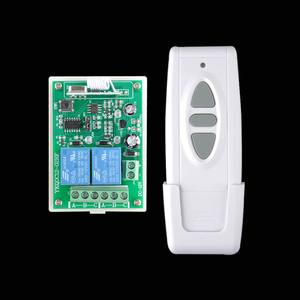 Image 2 - DC 12 V Wireless Motor Remote Switch Controller Forwards Reverse Up Down Stop Wall Transmitter Manual Button Limit Switch