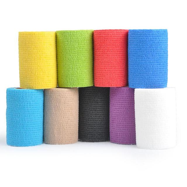 Security protection CE/FDA Certification waterproof self adhesive elastic bandage 10cm first aid kit Nonwoven Cohesive Bandage