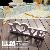 Wedding Big Size LOVE Ornaments Stereo White LOVE Letters Wedding Party Props 30 12 CM Home