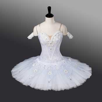 Fltoture Woman White Professional Ballet Tutu Snow White Stage Wear Ballerina Birthday Gift ATS9011 Girls Ballet Nutcracker - DISCOUNT ITEM  5% OFF All Category