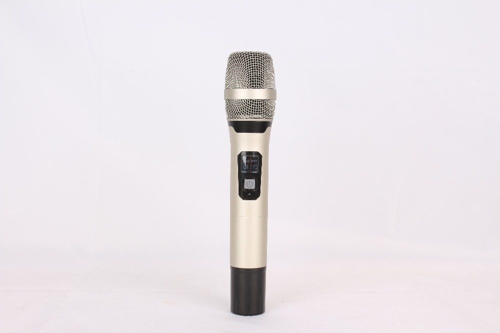 Wireless Microphone System U4000T Professional Microphone 4 Channel UHF Dynamic Professional 4 Handheld Microphone Karaoke in Microphones from Consumer Electronics