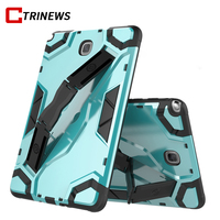 Hybrid Armor Case For Samsung Galaxy Tab A 8 0 T350 T355 Stand TPU Silicon Hard