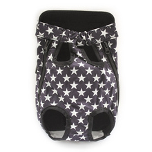 Armi store Pentagram Pattern Dog Bag Comfortable Chest Front Carry Bags For Dogs 6111022 Pet Five Holes Backpack Supplies